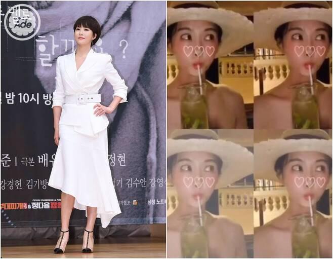 출처: 뉴스에이드 DB, 김선아 인스타그램