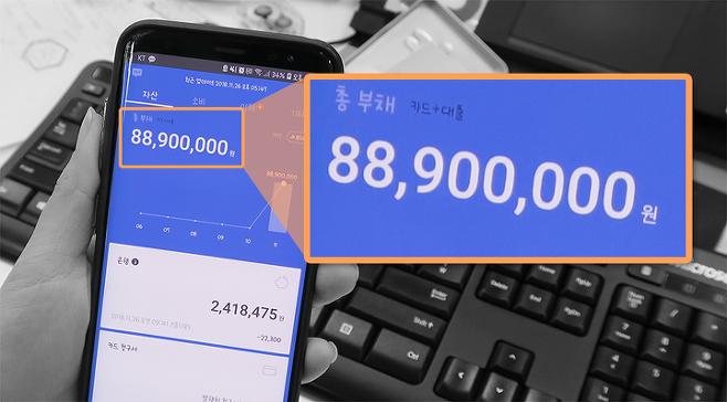 출처: 대출이 실행된 베어님의 브로콜리 어플 부채 화면