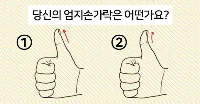 출처: 엄지손가락으로 보는 나의 재력은?