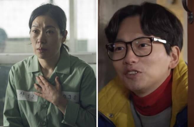 출처: (왼쪽부터) <증인>, <응답하라 1988>