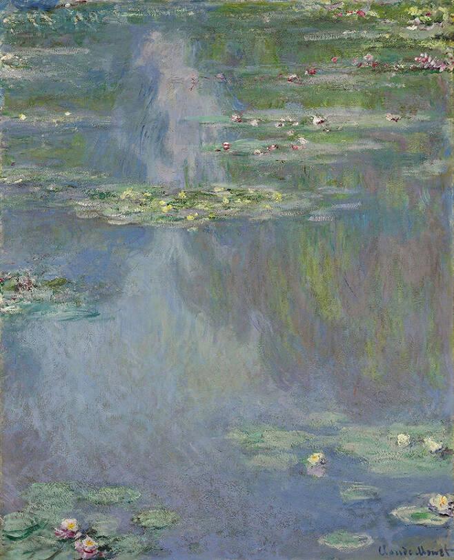 출처: Claude Monet, Water Lilies, 1960.
