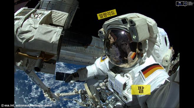 출처: esa.int, astronaut Alexander Gerst