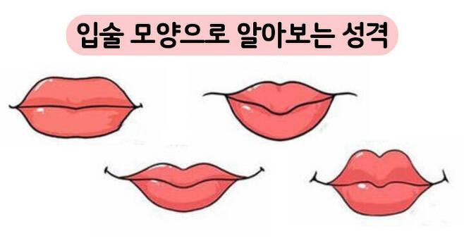 출처: 내 입술 모양을 찾아보세요!