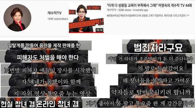 출처: 언론인권포럼 '미디어와 n번방 성착취 사건 2차 피해 자료집'