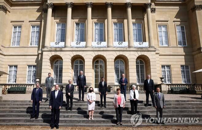 G7 재무장관 [AFP=연합뉴스 자료사진]
