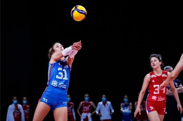 세르비아여자배구대표팀의 31번 리베로 산야 조르제비치