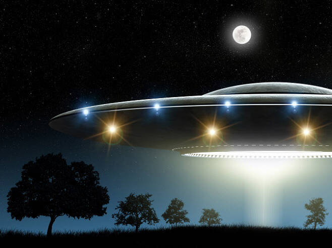 UFO라는 용어가 나온 이후 반세기가 넘는 시간이 흘렀고, 과학기술 발전이 이뤄졌지만 UFO는 여전히 미스터리로 남아있다.(사진=이미지투데이)