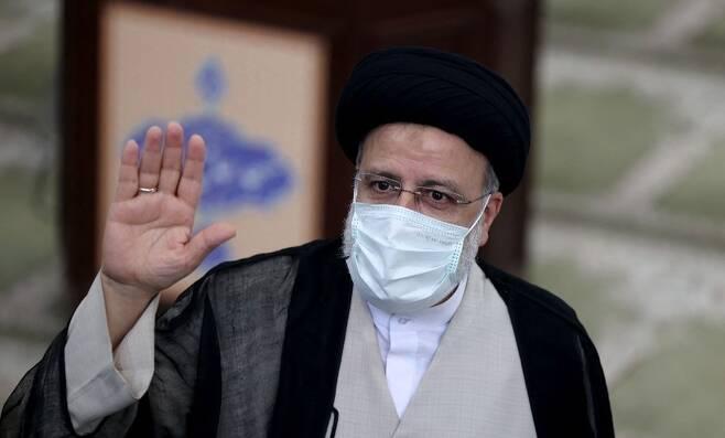 라이시 이란 대통령 당선인. 사진=AFP 연합뉴스