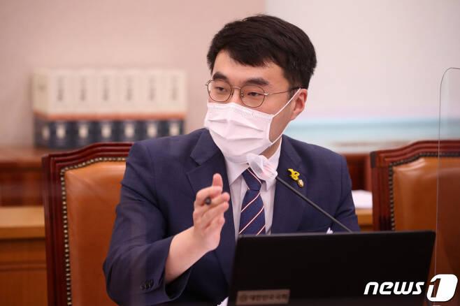(서울=뉴스1) 박세연 기자 = 김남국 더불어민주당 의원. 2020.10.22/뉴스1