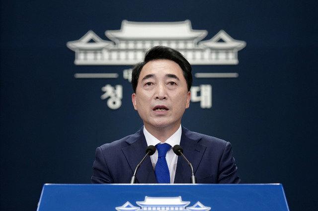 박수현 청와대 국민소통수석. 사진=청와대 제공