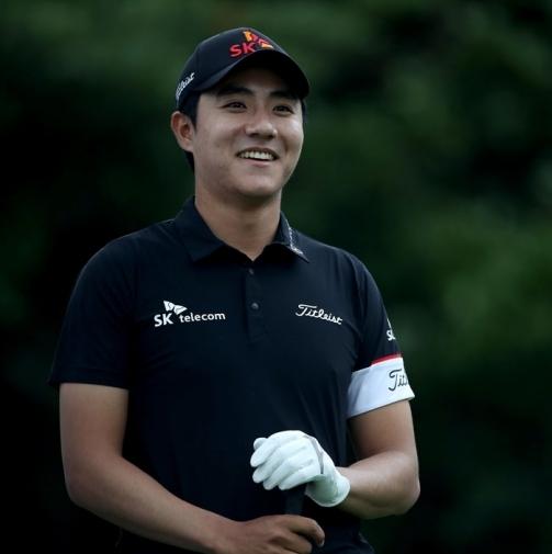 2021년 한국프로골프(KPGA) 코리안투어 야마하·오너스K 오픈 골프대회에서 출전한 김한별 프로. 사진제공=KPGA
