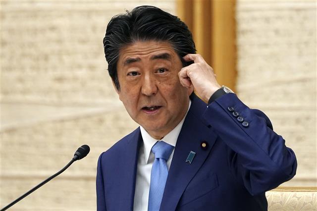 아베 신조 일본 총리.EPA 연합뉴스