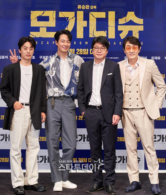 구교환-조인성-김윤석-허준호(왼쪽부터 차례대로) 사진|롯데엔터테인먼트