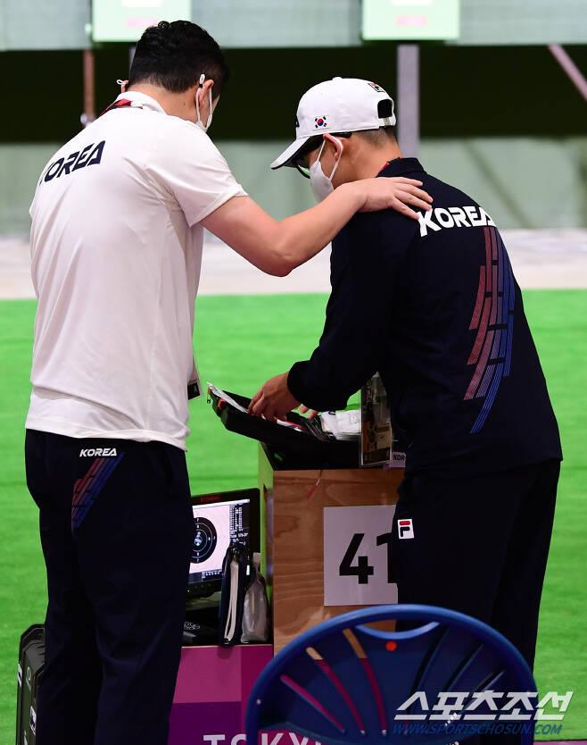 '모세의 기적을 보여다오!' 김모세의 첫 올림픽 메달을 기원하며 따뜻한 격려를