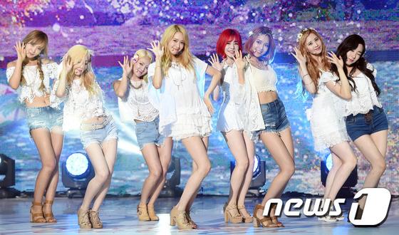 소녀시대 ./ 뉴스1 © News1 권현진 기자