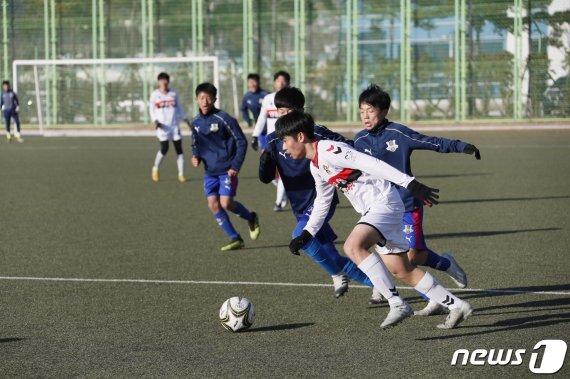 지난 겨울 보성군을 찾은 축구 전지훈련팀(보성군 제공)/뉴스1 © News1 /사진=뉴스1