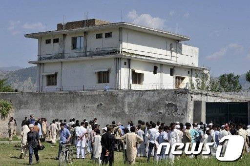 파키스탄 아보타바드에 위치한 오사마 빈라덴 은신처. © AFP=News1 자료 사진