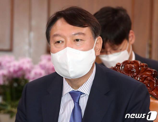 윤석열 전 검찰총장. 2021.8.3/뉴스1 © News1 이동해 기자