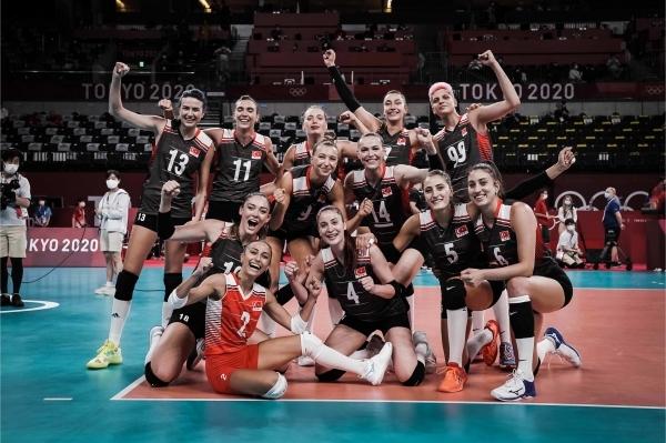 터키 여자배구대표팀. 사진 FIVB