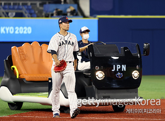 일본 불펜에서 최고 경계 대상은 센가 코다이다(사진=게티이미지코리아)