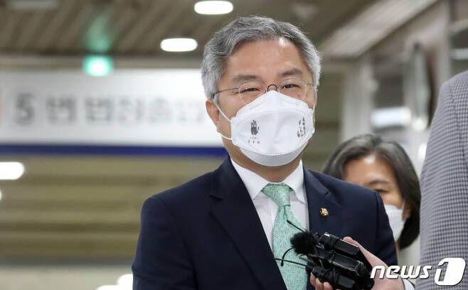 최강욱 열린민주당 대표. 2021.6.8/사진=뉴스1