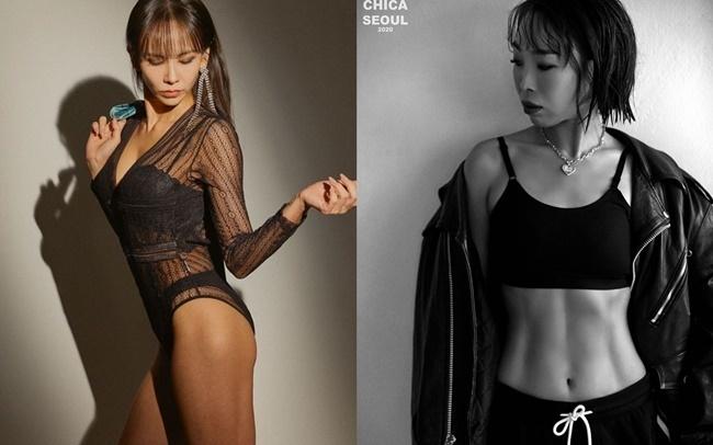왼쪽부터 김지우, 오나미