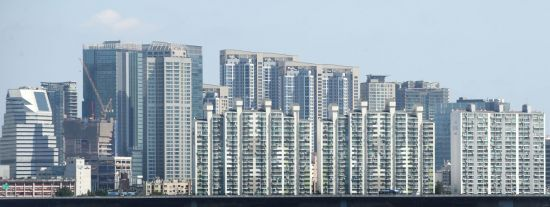 서울 시내 아파트 모습 [이미지출처=연합뉴스]