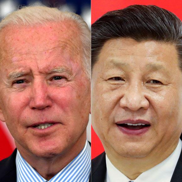 조 바이든(왼쪽) 미국 대통령과 시진핑 중국 국가주석. 서울신문 DB