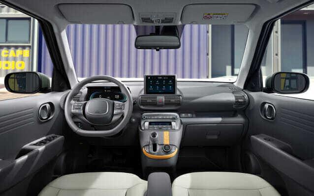 경형 SUV 캐스퍼 실내 (사진=현대자동차)