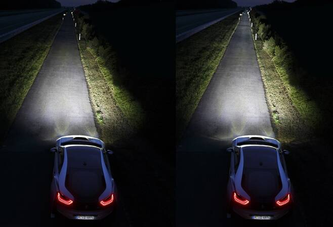 BMW 레이저 라이트 [사진 제공=BMW]