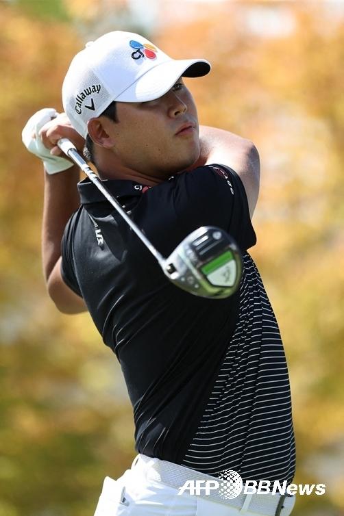 2021년 미국프로골프(PGA) 투어 포티넷 챔피언십에 출전한 김시우 프로가 최종라운드에서 경기하는 모습이다. 사진제공=ⓒAFPBBNews = News1