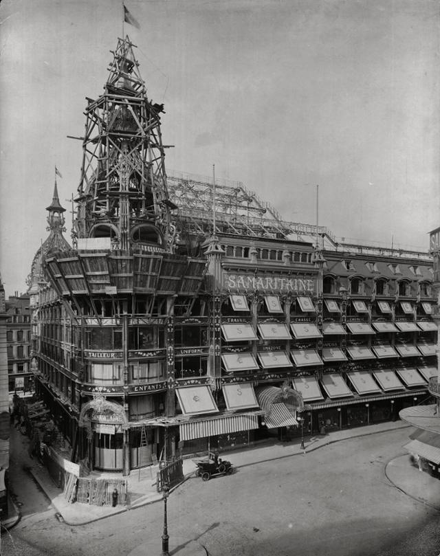 1900년대 초 사마리텐은 화려한 장식이 특징인 아르누보 양식으로 지어졌다. ⓒSamaritaine·프랑스 관광청