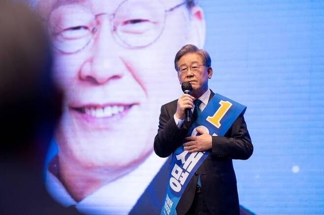 ▲ 더불어민주당 대선 경선 예비후보 이재명 경기도지사. 사진=열린캠프
