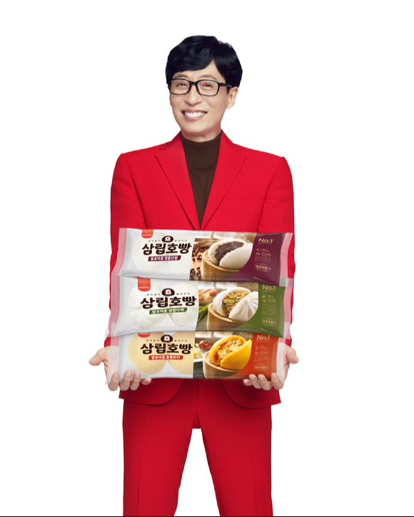 SPC삼립이 삼립호빵 신제품을 출시하고 모델로 방송인 유재석을 발탁했다. [사진= SPC삼립]