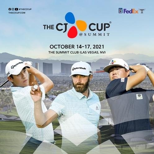 2021년 미국프로골프(PGA) 투어 더 CJ컵에 출전하는 임성재 프로. 콜린 모리카와, 더스틴 존슨. 사진제공=더 CJ컵