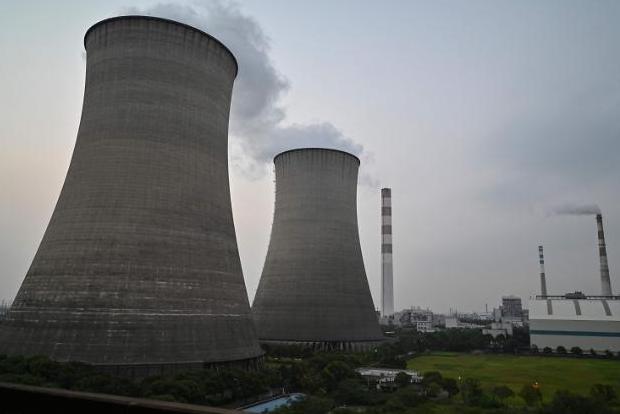 중국 상하이의 석탄화력발전소 (사진=연합뉴스)