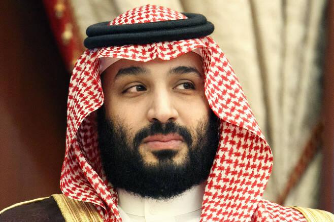 뉴캐슬 유나이티드의 실질적인 구단 주인이 된 무함마드 빈 살만 사우디아라비아 왕세자. 사진=AP PHOTO