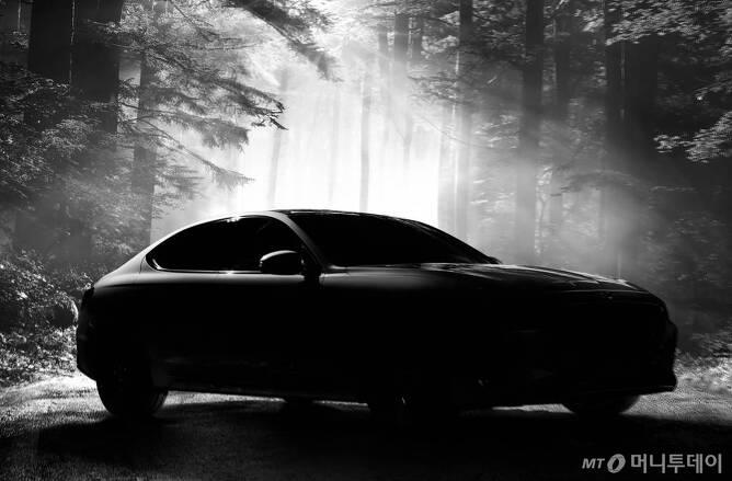 '제네시스 G70' 티저 이미지/사진=현대차