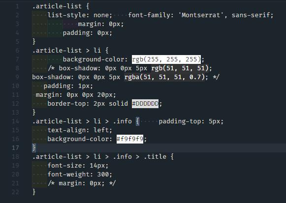 Beautify - JS, CSS, HTML 코드를 이쁘게