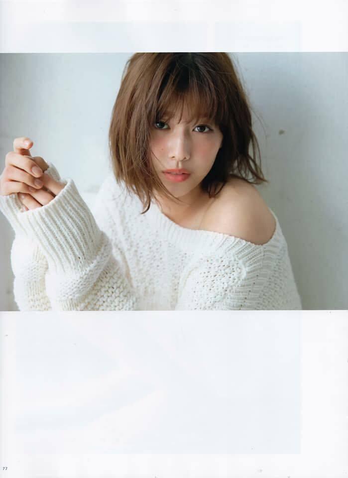 keyakizaka46 Watanabe Risa WHITE Graph - Part 1