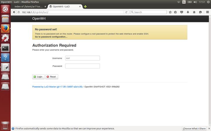 OpenWrt, command line 으로 luci 설치하기