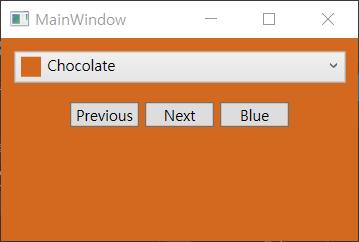 WPF tutorial - The ComboBox control