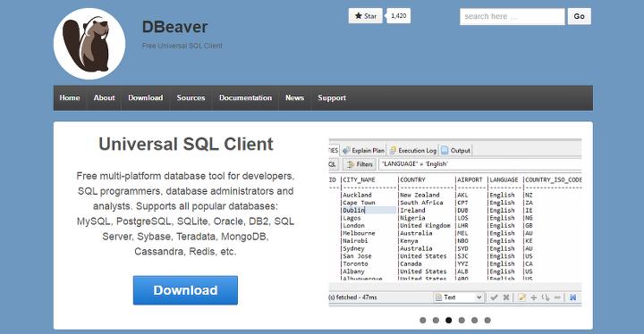 Mac, Linux 에서 쓸만한 DB Tool - DBeaver