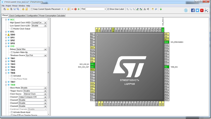 11 [stm32f103][hal] 타이머 (2) _ Timer OC(Output Compare)