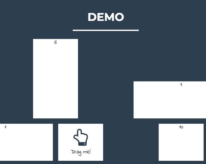 Angular] Grid Layout component