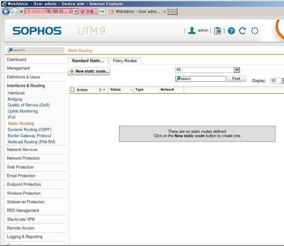 Sophos UTM - 06  Sophos UTM Interfaces & Routing