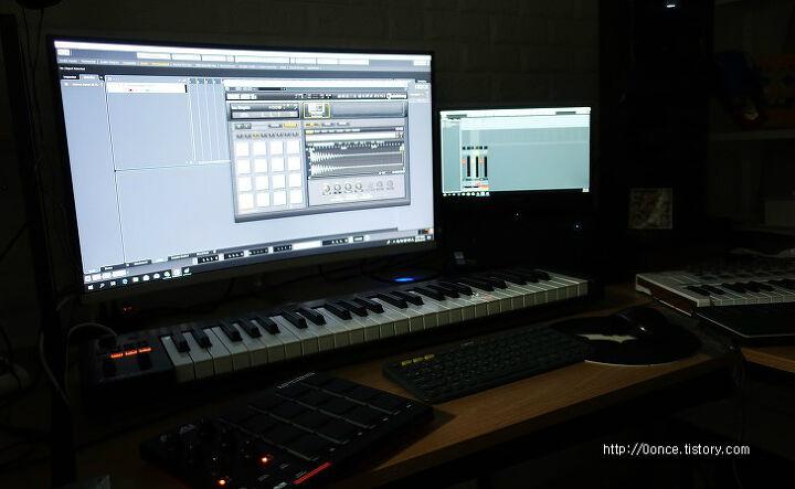 AKAI MPD218 드럼 컨트롤러 패드 리뷰 동영상 첨부