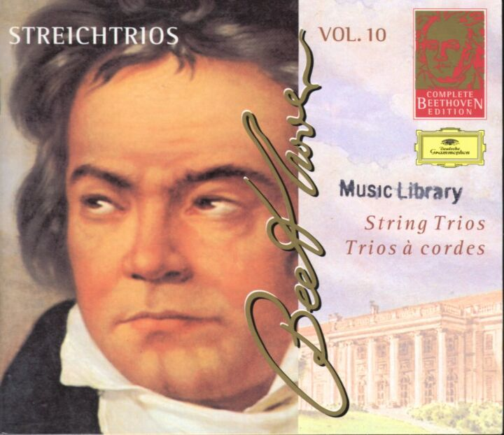 L V Beethoven] Complete Beethoven Edition VOL 10 String Tios