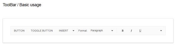 Kendo UI, 더 심플한 웹페이지 위한 Framework