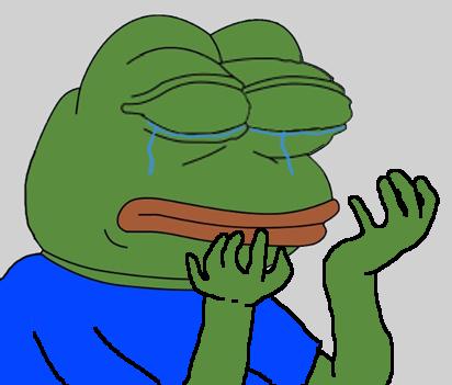 슬픈개구리(페페)짤 모음 1 - pepe the frog